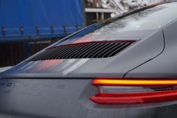 Porsche 911 S slitt helfolierings design, foto