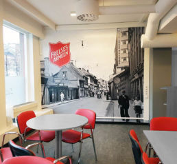 Frelsesarmeen cafe i Oslo, foto