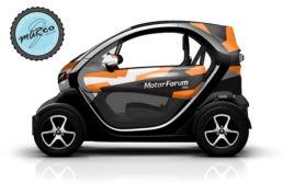 Renault Twizy camo edt custom design, foto