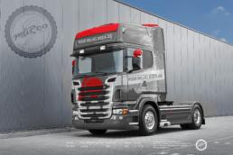 Spesial design på lastebil, fot