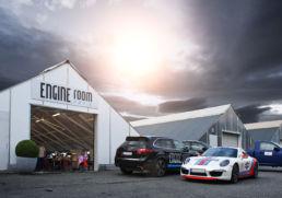 Engine room as design av ny logo, foto